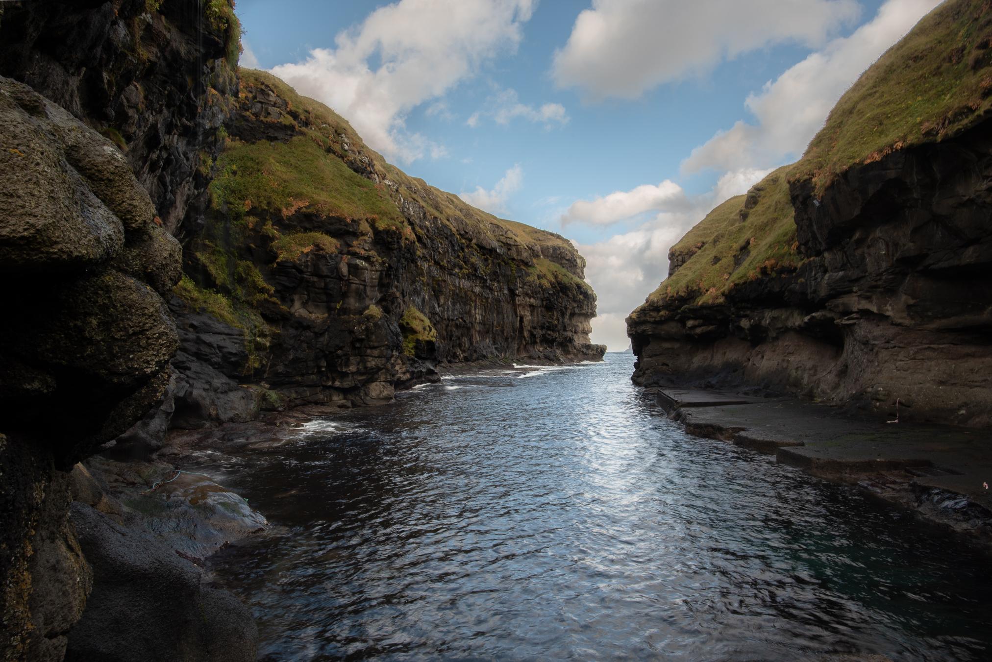 Klipper og fjorder
