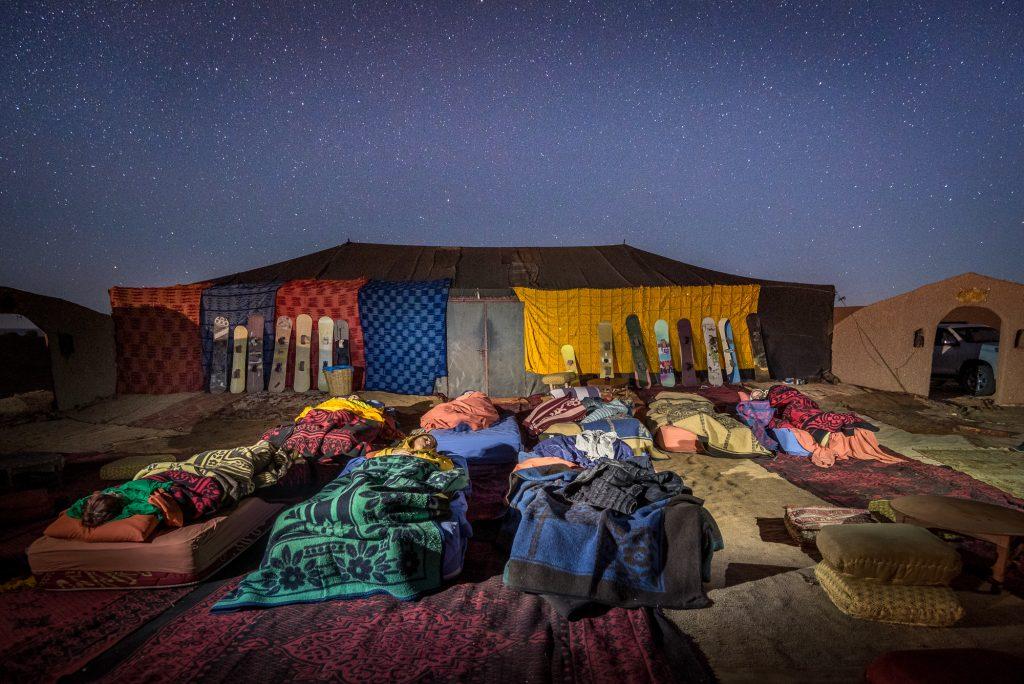 Sahara reise tur camp